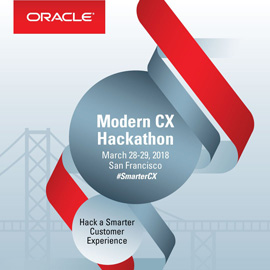 Fishbowl Solutions to Defend Trophy at Oracle Modern CX Hackathon: Hack a Smarter Customer Experience Event