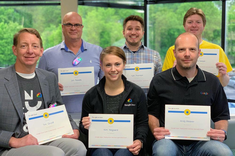 Fishbowl Team Members Earn Google Cloud Certifications